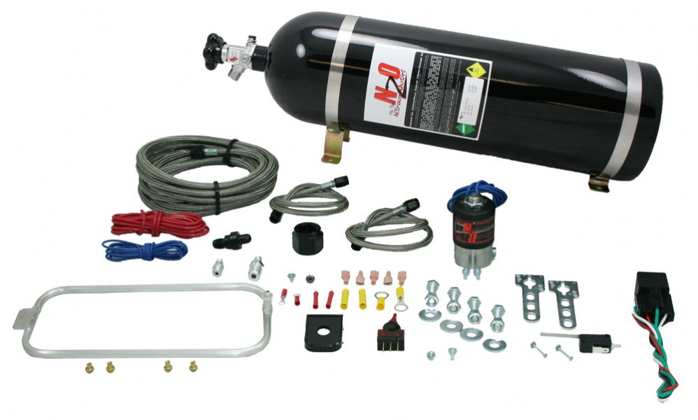 98-02 Nitrous Outlet LS1 FBody Hidden Dry Nitrous Halo System (15lb Bottle)
