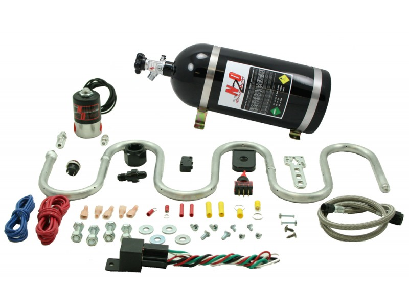 Nitrous Outlet Snake designed Intercooler System - 15lb Bottle