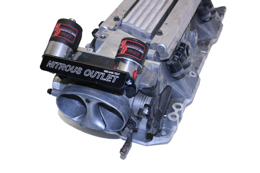 93-97 LT1 Fbody Nitrous Outlet Throttle Body Solenoid Mount