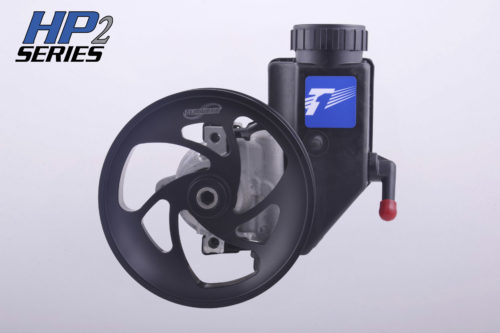 2010-2013 Camaro SS V8 Turn One HP2 Steering Pump - AN-6 Pressure Fitting & No Supercharger Driveshaft