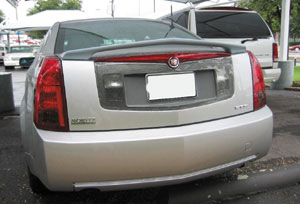 2004-2007 Cadillac CTS-V Wings West Fiberglass VIP Rear Spoiler