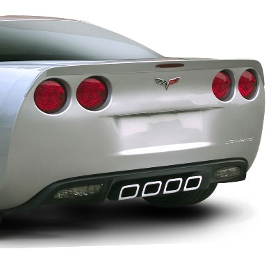 2005+ C6 Corvette SLP Rear Lip (Unpainted)