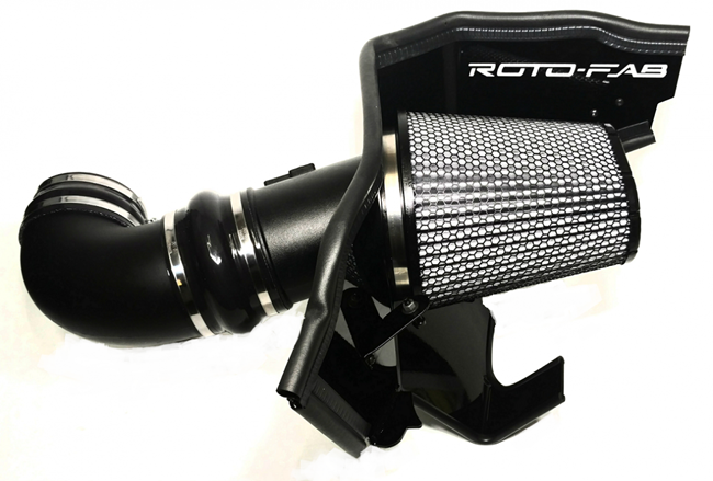 2016+ Camaro SS Rotofab Cold Air Intake - w/Dry Filter - For Magnuson & Whipple Superchargers