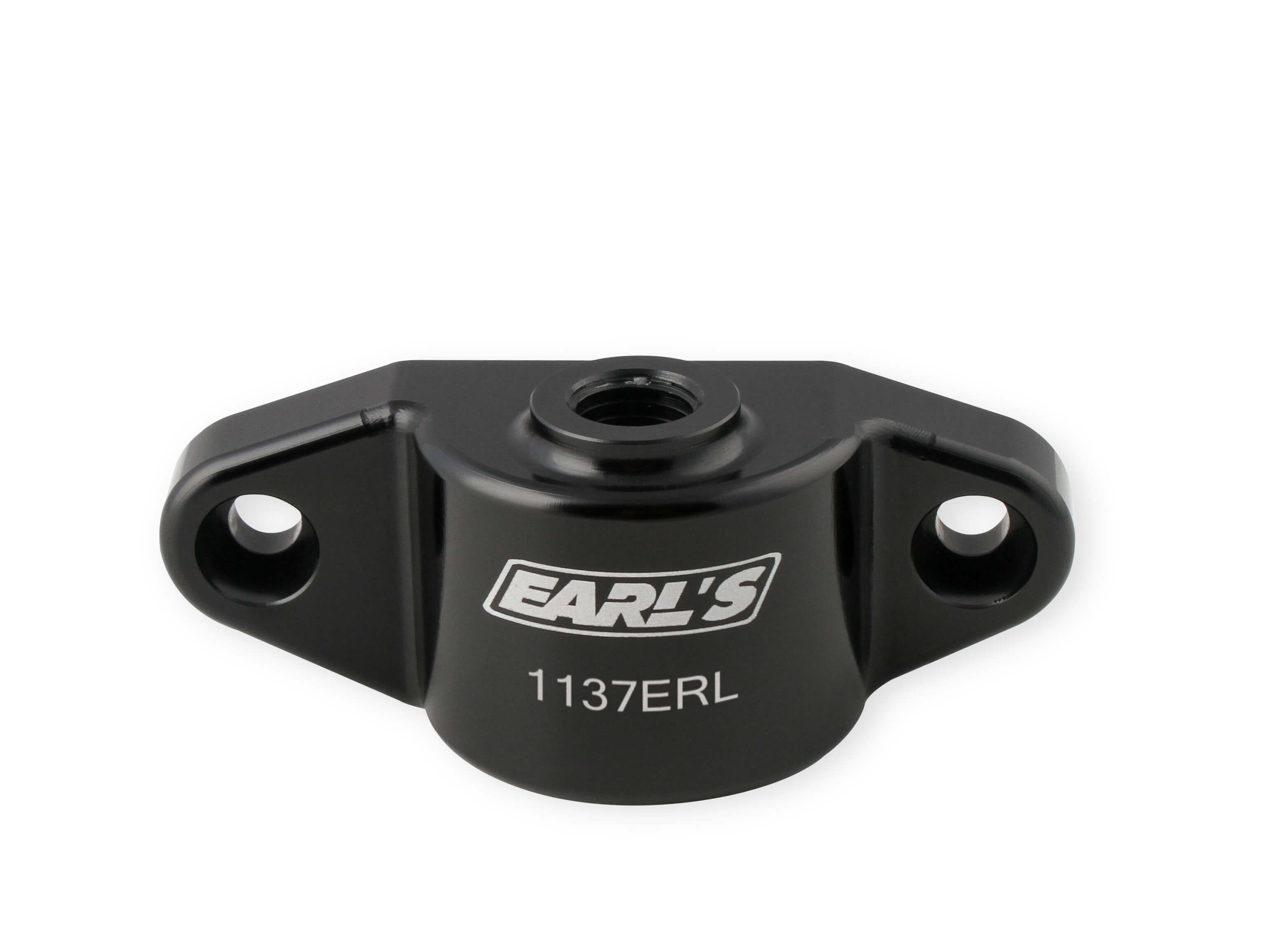 "GM Gen V LT1 Earls Oil Cooler Block Off Plate w/ 1/8"" NPT Port – Ideal for Use for Oil Pressure Gauge or Turbo Oil Supply"