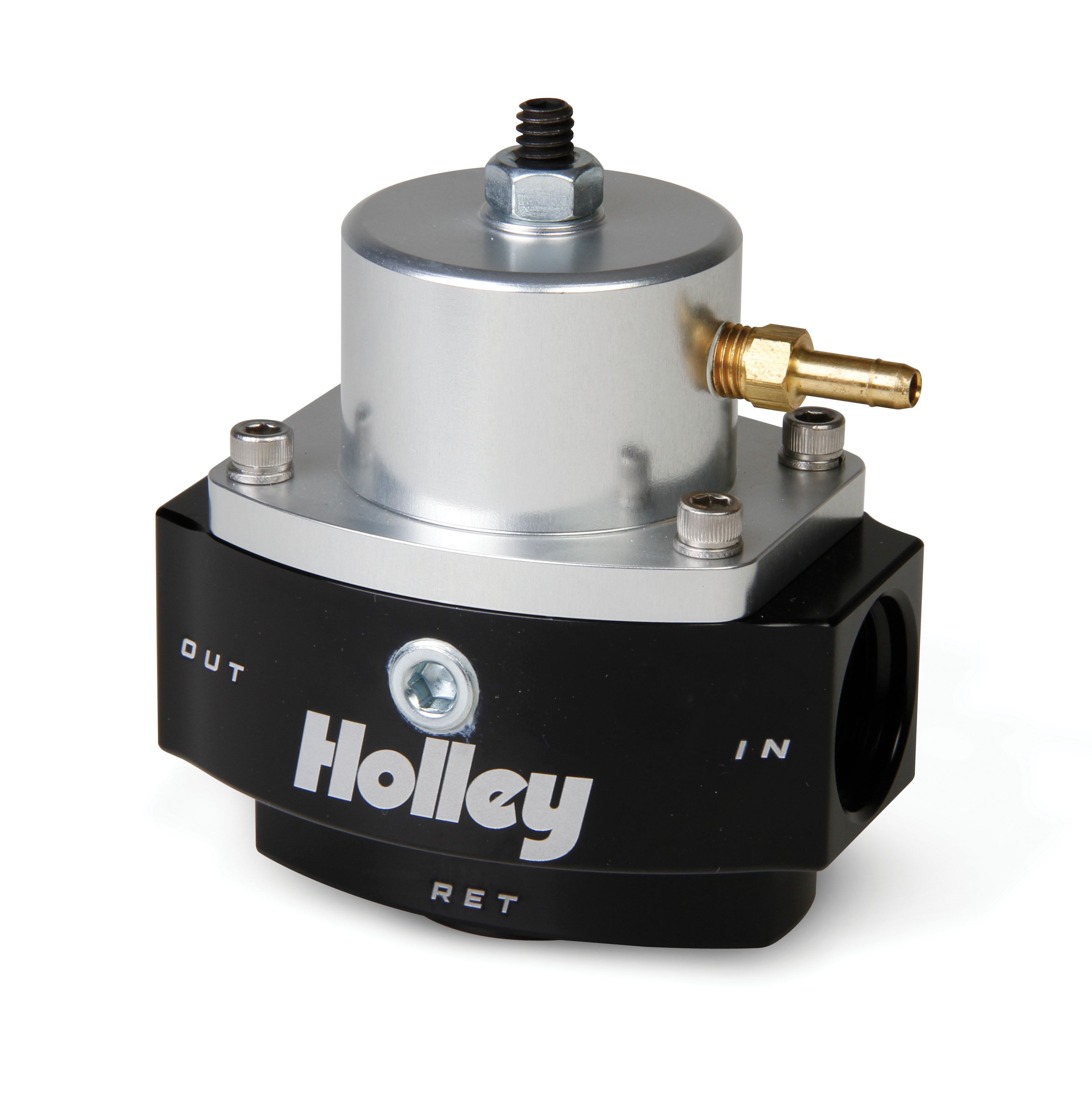 Holley 2 Port Ultra Dominator Fuel Pressure Regulator - Adjustable 4-9 PSI
