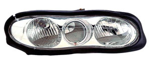98-02 Camaro Anzo Halo Front Head Lights w/Clear Lens - Chrome Housing