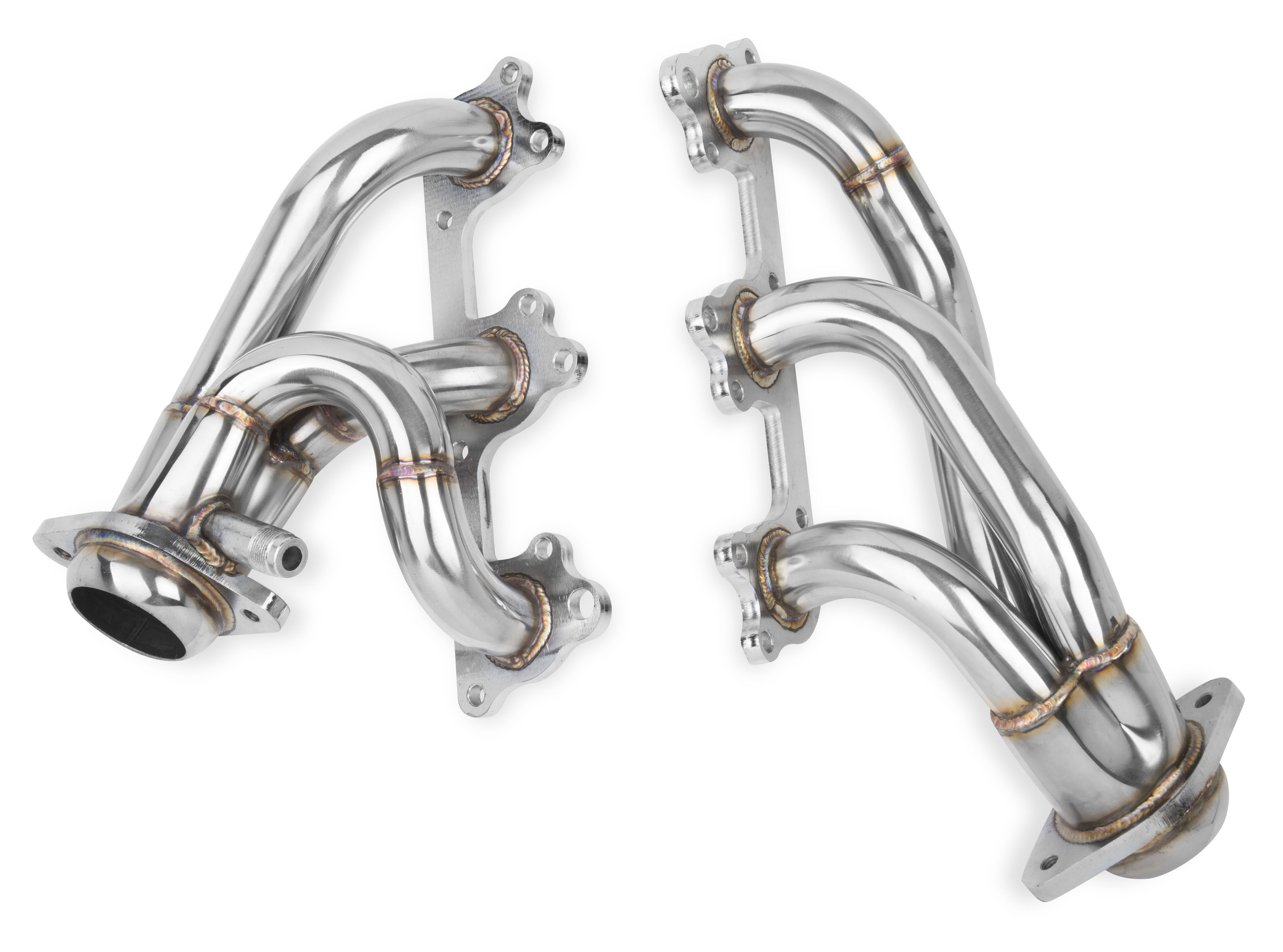 "2005-2010 Ford Mustang 4.0L V6 Flowtech Stainless Steel 1 1/2"" Shorty Headers - Polished"