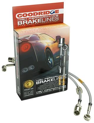 1997-2004 C5/ZO6 Corvette Goodridge Stainless Steel Braided Brake Lines