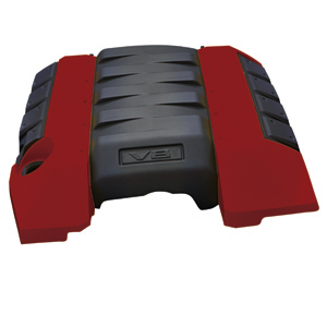 2010+ Camaro V8 GM Performance Parts Engine Cover - Red Rock