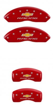 1997-2004 C5 Corvette Red Chevrolet Racing MGP Caliper Covers
