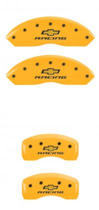 1997-2004 C5 Corvette Yellow Chevrolet Racing MGP Caliper Covers