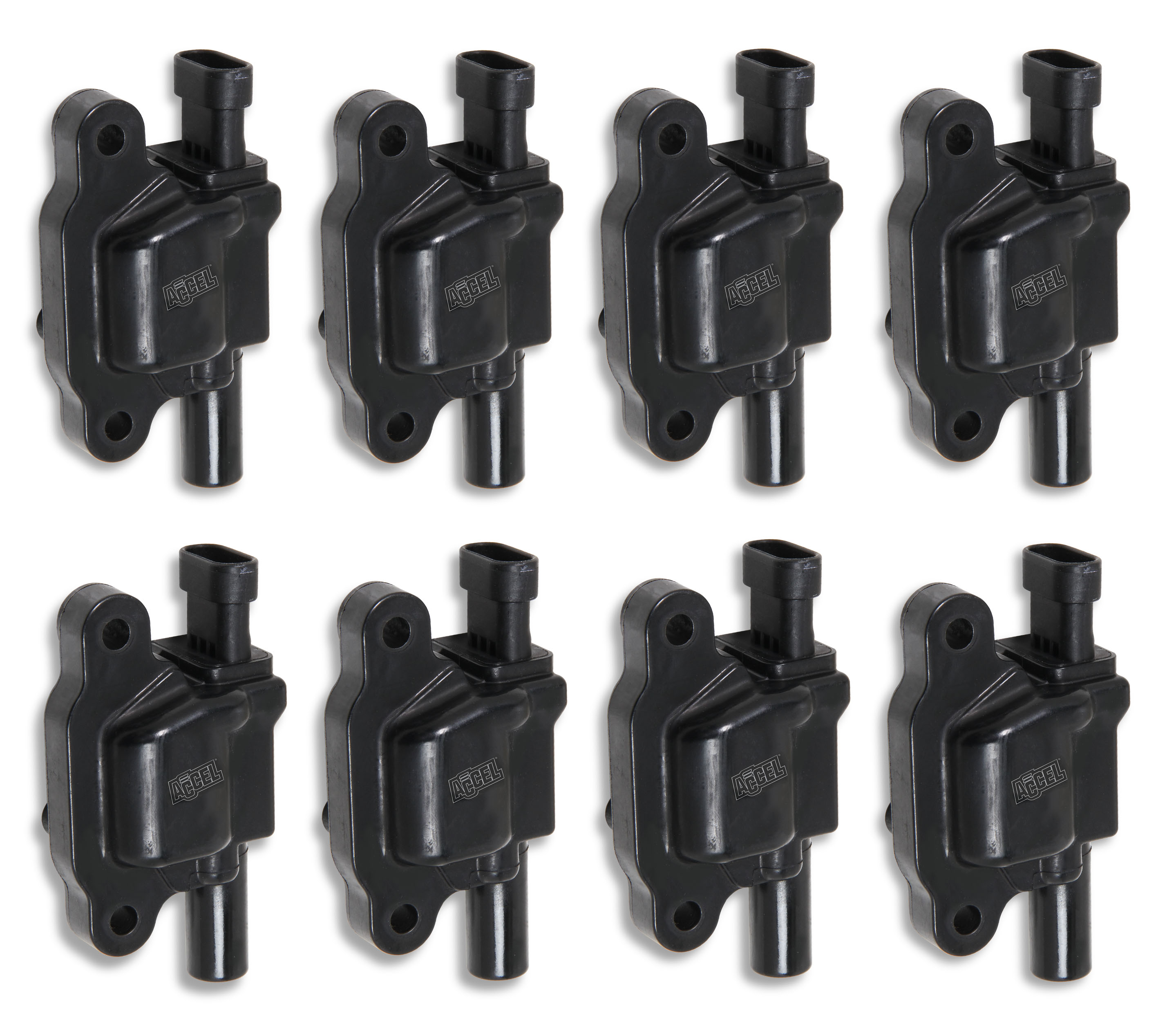 LS2/LS3/LS7 Accel Black Super Coils - Set of 8