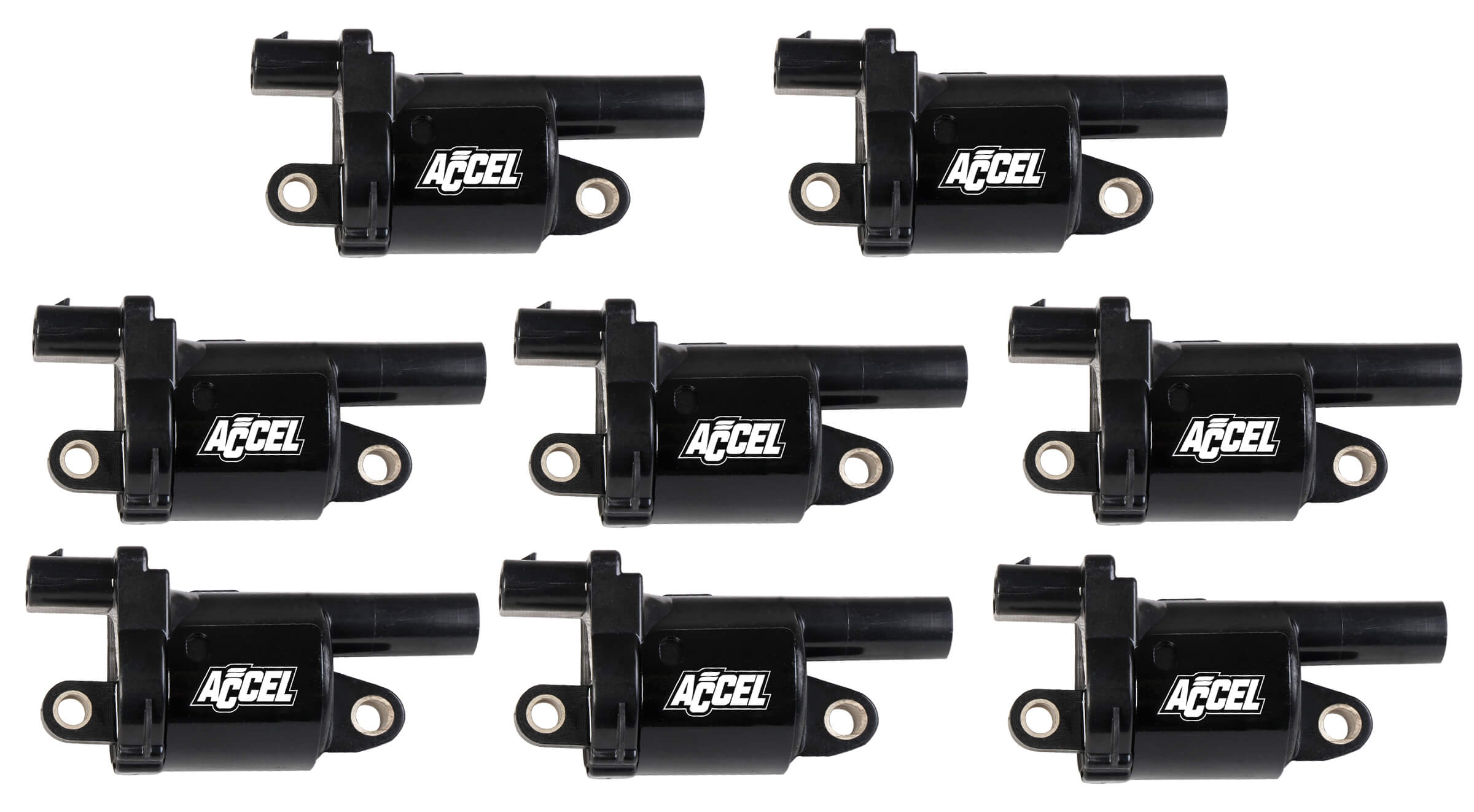 2014+ GM Gen V Accel Performance Round Black Coils - 8pk