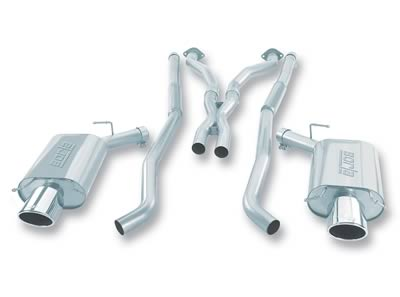 04-07 CTS-V Borla Stainelss Steel Catback Exhaust System