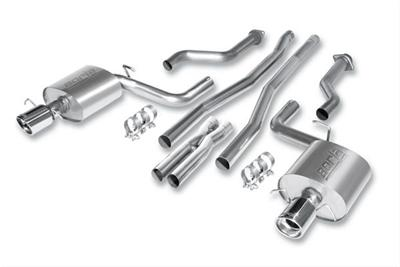 2009+ Cadillac CTS-V Borla Catback Exhaust and X-Pipe