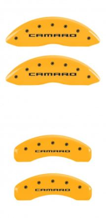 2010-2015 Camaro Yellow MGP Caliper Covers