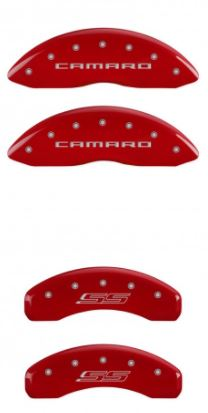 2010-2015 Camaro Red Camaro/SS MGP Caliper Covers