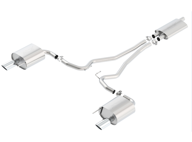 "2015+ Ford Mustang 2.3L Ecoboost Borla ""Touring"" Catback Exhaust System"