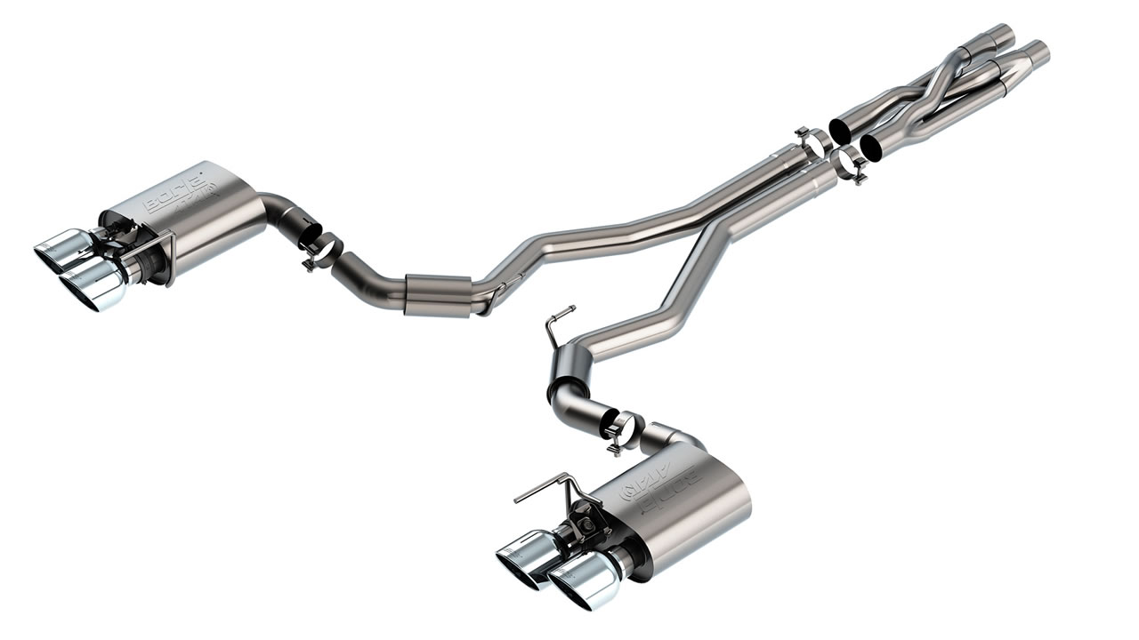 2020+ Ford Mustang GT500 Borla ATAK Catback Exhaust System