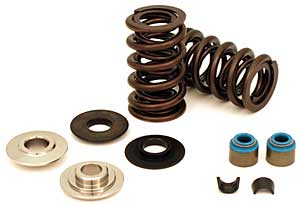 "Crane Cams LS Series High Performance Dual Valve Spring Kit w/Titanium Retainers (.660"" Lift)"