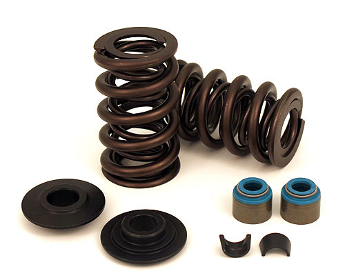 "Crane Cams LS Series High Performance Dual Valve Spring Kit w/Steel Retainers (.660"" Lift)"