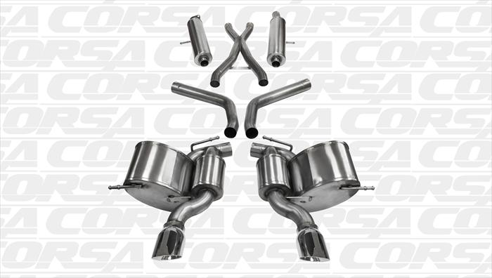 2012+ Jeep SRT8 Corsa Performance Catback Exhaust System