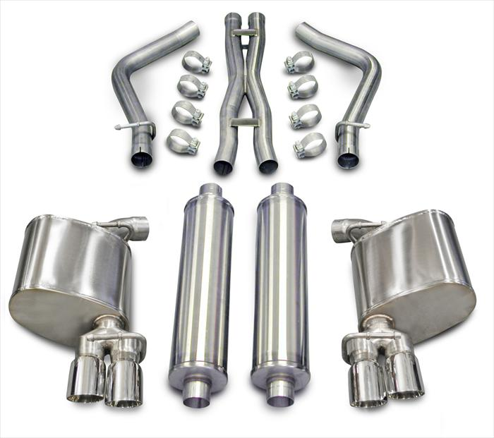 2011+ Dodge Charger 5.7L V8 Corsa Performance Extreme Catback Exhaust System (Charger Only)