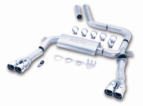98-02 LS1 Borla Cat-Back Exhaust System (Adjustable)