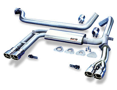 98-02 V6 Borla Cat-Back Exhaust System