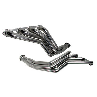 "1979-93 Ford Mustang 5.0L V8 BBK Performance 1 5/8"" Long Tube Headers - Chrome"