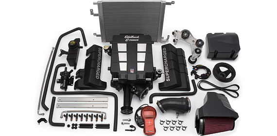 2005-2010 Hemi 6.1L V8 Edelbrock E-Force Supercharger Kit (Competition Kit)