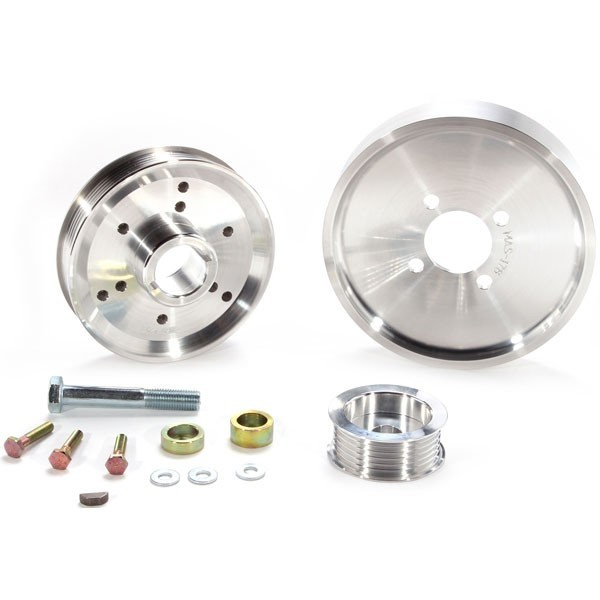 2002-2004 Ford Mustang GT BBK Performance Underdrive Pulley Kit
