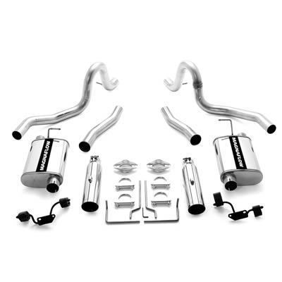 systems exhaust mustang rpmspeed 1968 Mustang Coupe to Fastback 15671 99 04 ford mustang gt mach 1 magnaflow stainless steel catback exhaust