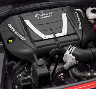 2010+ Camaro SS Edelborck E-Force Supercharger System (Automatic Transmission) - Competition Kit