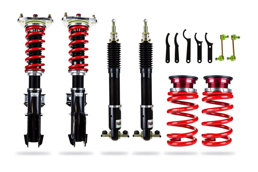 2015+ Ford Mustang Pedders Suspension eXtreme XA Coilover Kit