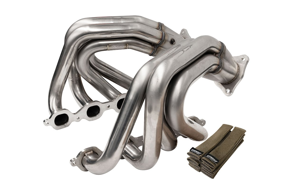 "2020+ C8 Corvette Corsa 1.875"" x 3"" Stainless Steel Headers"