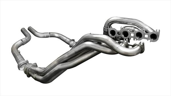 "2018+ Ford Mustang GT 5.0L Corsa Performance 1 7/8"" x 3"" Long Tube Headers w/Offroad Corsa Connection Pipes"