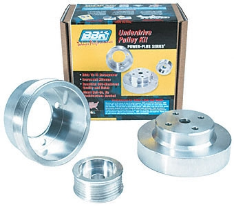 88-92 BBK Performance Pulley Kit 3 Piece Aluminum