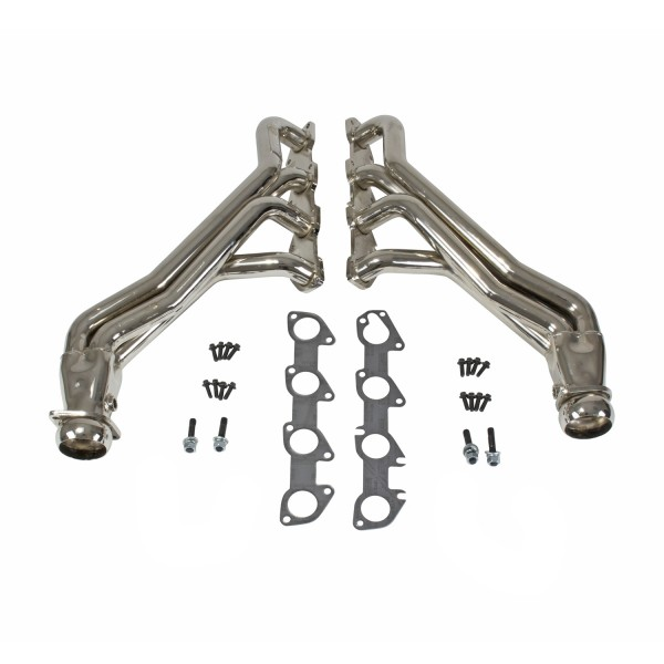 "2005+ Dodge Challenger/Charger/300C 6.1/6.2/6.4L V8 BBK Performance 1 7/8"" Long Tube Headers - Chrome"