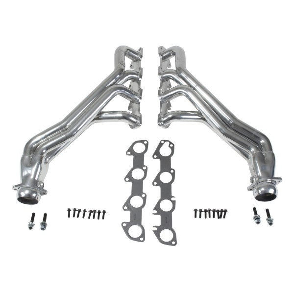 "2005+ Dodge Challenger/Charger/300C 6.1/6.2/6.4L V8 BBK Performance 1 7/8"" Long Tube Headers - Silver Ceramic"