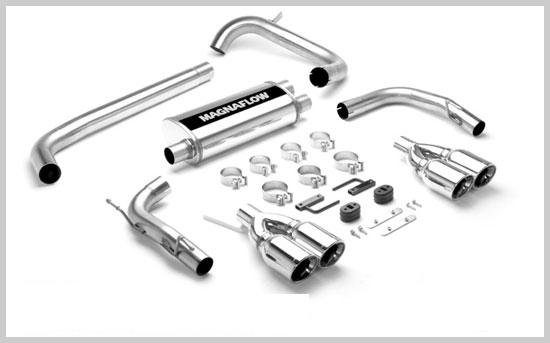 98-02 LS1 Magnaflow Cat Back W/Dual Polished Tips