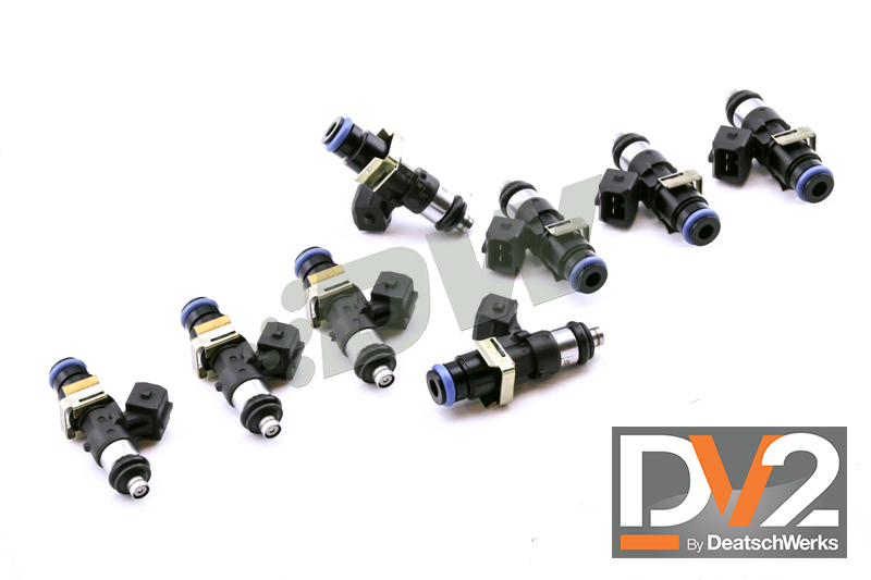 LS2 Deatsch Werks Bosch EV14 1500 CC Fuel Injectors - 60mm Long (Set of 8)