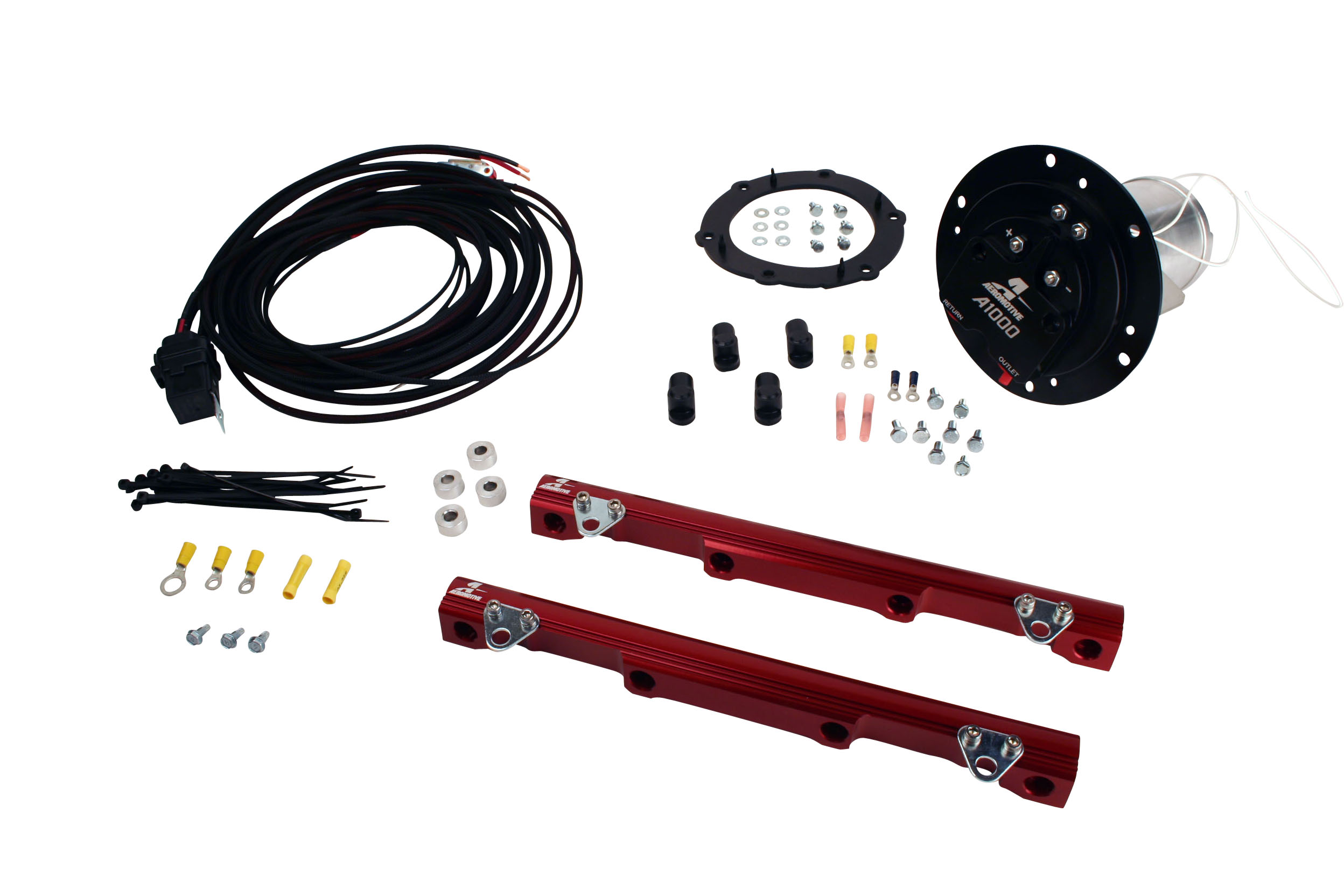 2003-2004 Ford Mustang Cobra Aeromotive Stealth A1000 Race Fuel System