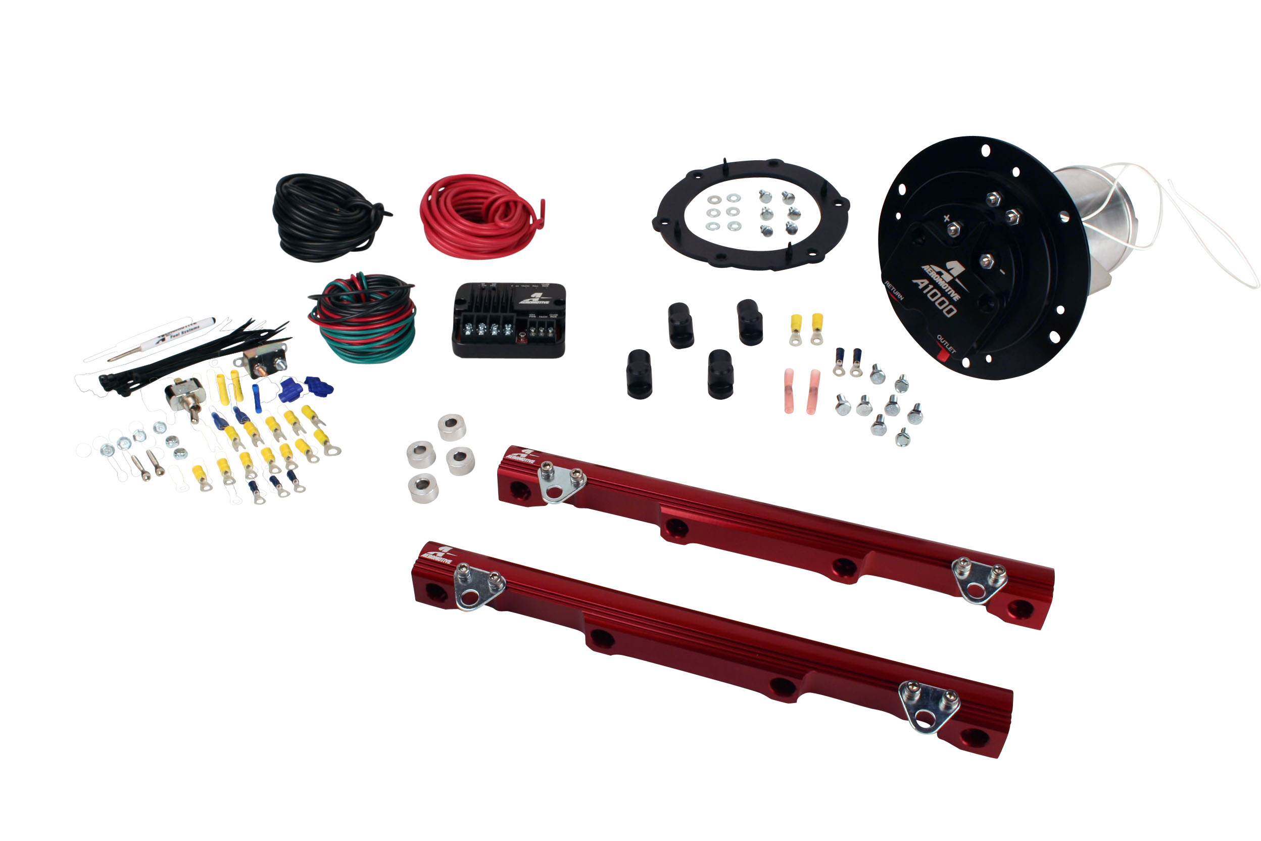 2003-2004 Ford Mustang Cobra Aeromotive Stealth Eliminator Street Fuel System
