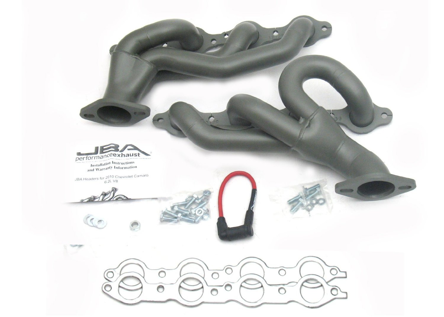 "2014+ Chevrolet SS JBA Headers 1 3/4"" Titanium Ceramic Coated Stainless Shorty Headers"