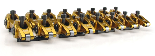 Comp Cams Ultra-Gold™ GM LSX Aluminum Rocker Arms (1.72) - Kit (16)