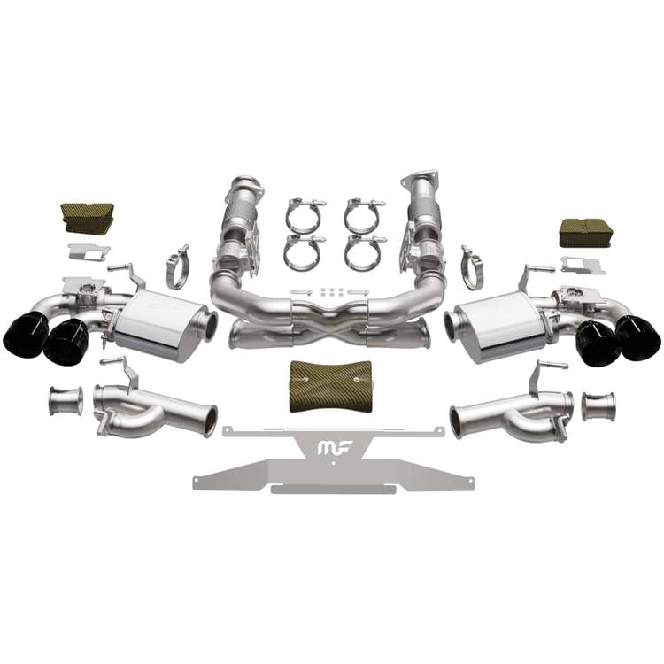 2020+ C8 Corvette Magnaflow MOD Series Cat-Back Performance Exhaust System w/Black Tips