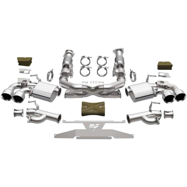 2020+ C8 Corvette Magnaflow XMOD Series Cat-Back Performance Exhaust System w/Polished Tips