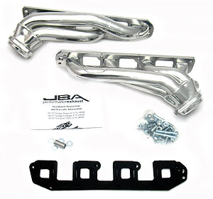 "2005-08 Dodge Charger/Magnum/300C 5.7L V8 JBA Performance 1 3/4"" Cat4ward Stainless Steel Headers - Silver Ceramic"