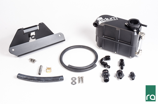 2013-2014 Ford Mustang GT500 Ford Radium Engineering Coolant Tank Kit
